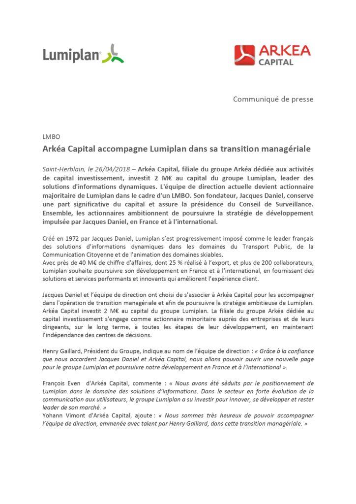 Lumiplan_CP_ArkeaCapital_2018.04